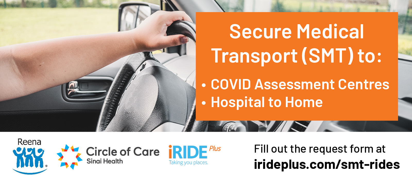 Secure Medical Transport (SMT) to COVID Assessment Centres and Hospital to Home